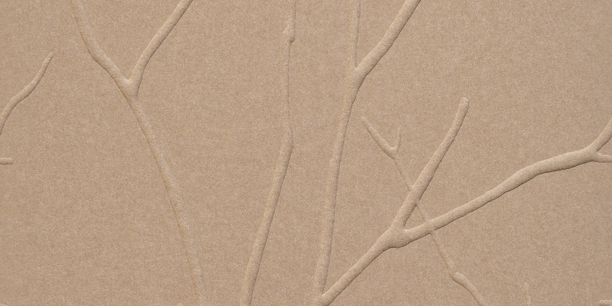 Vena formed acoustical panels in Graphite